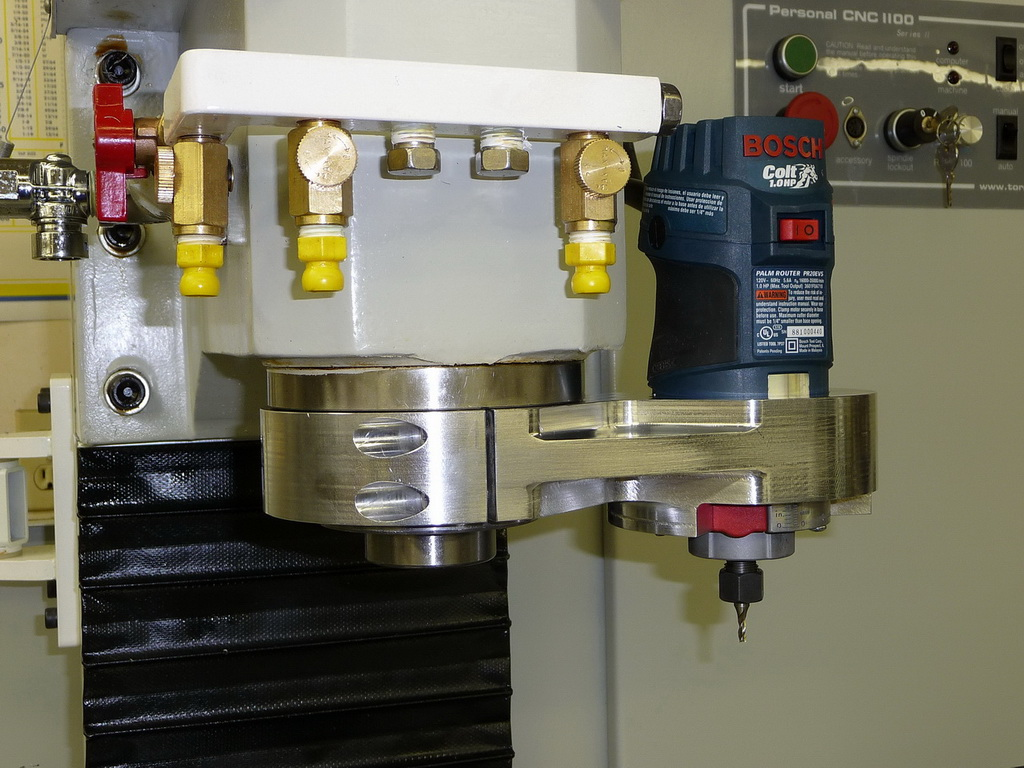 high speed engraving spindle