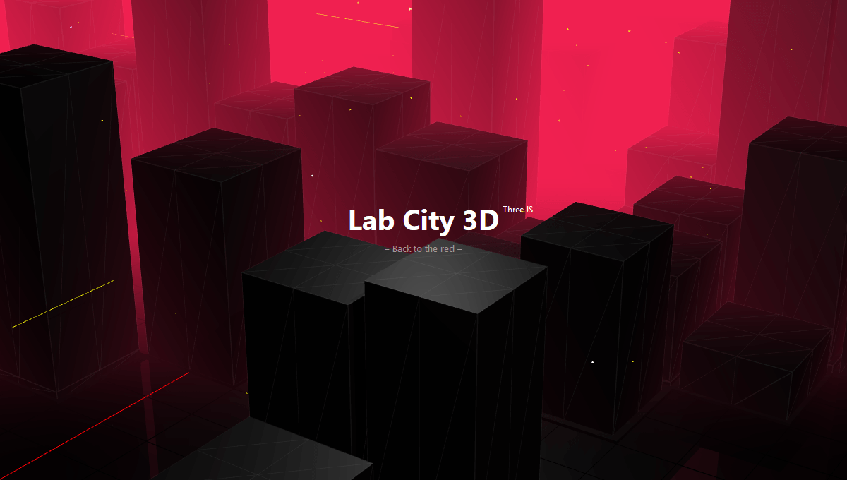 Demo image: City 3D