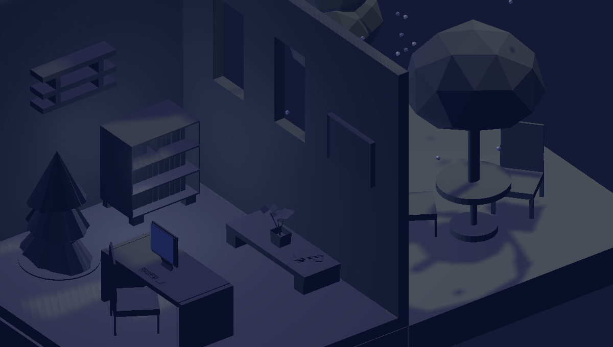 Demo image: Isometric Room