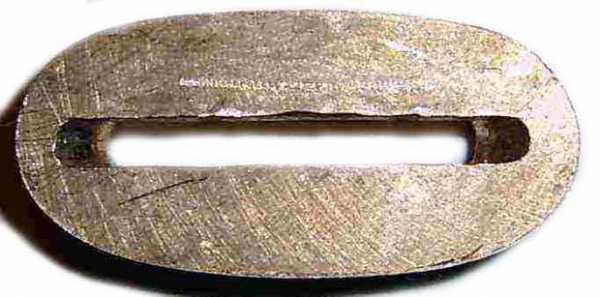 Чертеж ножа из дерева с размерами
